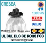150W LED 세륨 RoHS를 가진 높은 만 UFO 유형 130lm/W