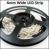 La tira flexible de 4 mm 120LED / M 2835 brillante de la cena LED