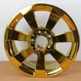 El azul, plata, negro, oro, magnetrón de las piezas del coche del color de Rosegold farfulla la máquina del laminado