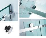 Recinto de la ducha del cuarto de baño del acero inoxidable de Frameless (CVP031)