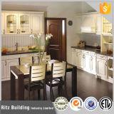 台所家具の現代高品質の純木の食器棚