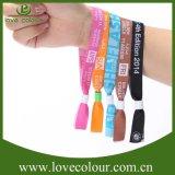 Изготовленный на заказ зрелищность соединяет Wristband сплетенный тканью для случая празднества