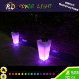 POT della plastica della mobilia LED di evento della decorazione della festa nuziale