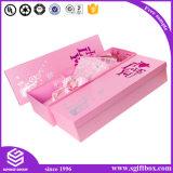 Caixa gama alta feita sob encomenda colorida da flor da embalagem do presente