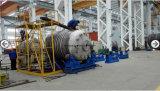 Trazador de líneas del tanque químico de almacenaje de ASME con el vidrio del PE, el caucho con las válvulas y el calibrador llano