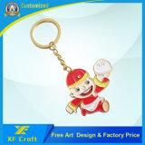 Anello chiave personalizzato poco costoso del metallo del fumetto per la promozione/ricordo