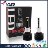 2017 Hot Sale A7 Phare de voiture Hi / Lo Beam Phare à LED avec conception de module à deux circuits
