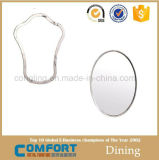 Espejo redondo moderno de la decoración de la alta calidad del arte del espejo casero al por mayor de la pared