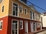 편리한 현대 가벼운 강철 조립식 집 조립식 가옥 별장