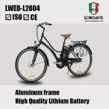 리튬 건전지 도시 전기 자전거 (LWEB-L2804)