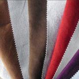 Замша Microfiber с придавать огнестойкость для ткани драпирования