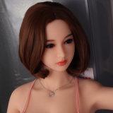 Muñeca realista del sexo del silicón del pecho del amor de la muchacha japonesa grande de la muñeca el 158cm