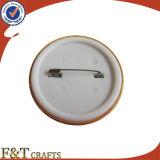 Impresión en offset de la manera con el Pin de epoxy de la solapa. Divisa de encargo del botón