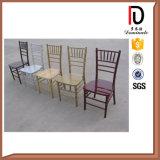 Высокое качество классицистический стул Тиффани Chiavari древесины белого бука золота для обедать (BR-C095)