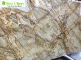 Marmo di vendita caldo di Alibaba Brown, lastra di marmo del Brown della foresta pluviale