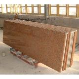 China Natural barato G682 granito amarillo Escaleras Riser Pasos Botines