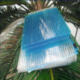 Feuille de cavité de nid d'abeilles de polycarbonate de matériaux de toiture de construction de bâtiments avec enduit UV