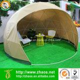 Maison multifonctionnelle en dôme géodésique en plastique à effet de serre en plein air