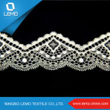 Новой шнурок конструкции вышитый границей для Bridal платья, ткани шнурка Sequin