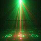 원격 제어와 3 개 렌즈 (48 개) 패턴 레드 그린 미니 레이저 프로젝터 라이트 블루 LED 레이저 쇼 시스템