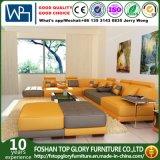Mobília nova colorida brilhante do sofá do couro do projeto (TG-5004)