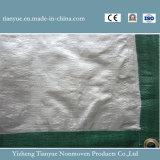 Het Met een laag bedekte Geteerde zeildoek van het Canvas van de polyester pvc
