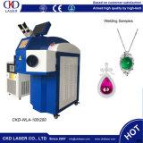 Горячая продавая машина лазера серебряных ювелирных изделий золота паяя