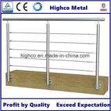 Corchete de pared oblongo para el balaustre, la barandilla y el pasamano