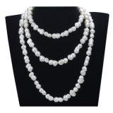 collar de agua dulce cultivado natural de la perla del color mezclado barroco largo de la dimensión de una variable 47 de 10m m ''