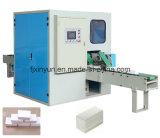 Automatische Kasten-Abschminktuch-Papierherstellung-maschinelle Herstellung-Zeile Preis