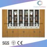 Gabinete de arquivo de estante de escritório de móveis de madeira