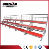 El plegamiento de aluminio del marco de Shizhan/fijó el paso de progresión tres plegable la canalización vertical coral del coro de Srage