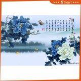 Картина маслом Peony напечатанная Inkjet китайская для домашнего украшения