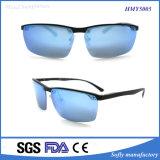 デザイナーカスタム標準的な金属のサングラスの人の分極されたレンズ