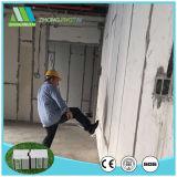 Fácil instalación Fibra de cemento EPS Sandwich panel de pared
