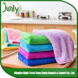 Le plus défunt chiffon populaire de nettoyage essuyant le tissu de Microfiber de tissu