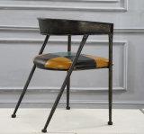 Cadeira da cafetaria da madeira contínua do projeto da forma