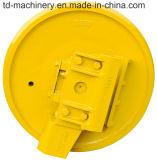 Fh200 Fh200-3 Fh220の掘削機シャーシは卸し売り中国またはブルドーザーの前部アイドラートラックメカニズムの部品を分ける
