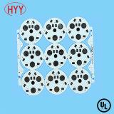 Doppelseitiges Aluminium gründete LED-Schaltkarte-Hersteller mit kupferner Stärke 35&Mum (HYY-066)