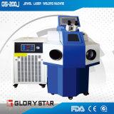Сварочный аппарат лазера YAG для ювелирных изделий