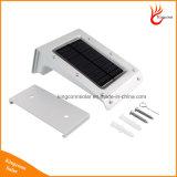 IP65 20 LED 태양 에너지 소리 또는 움직임은 옥외 안전 점화를 위한 센서 정원 빛을 검출한다