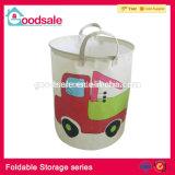 Escaninho Foldable do brinquedo da cesta do cubo do armazenamento do agregado familiar