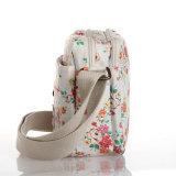 Saco floral impermeável das senhoras da lona dos testes padrões do PVC do estilo de Inglaterra (23229)