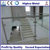 Poste de balustre de balustrade d'acier inoxydable