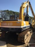 Máquina escavadora hidráulica usada de Kobelco Sk200 Japão para a venda barata! Máquinas escavadoras de segunda mão da esteira rolante de Kobelco Sk200-3