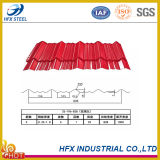 Folha da telhadura do material de construção PPGI da casa da fábrica