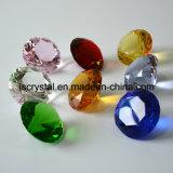 50mm Kristallglas-Fälschungs-bunter Diamant für Hochzeits-Dekoration