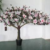 Искусственние валы Magnolia в 2 метра с красным цветком