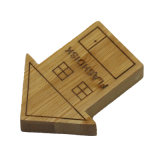 Disco flash USB 2.0 128g USB Pendrive USB Madera