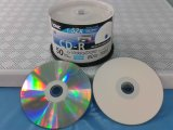Rectángulo de torta CD de los CD-R 700MB 80min 52X 50PCS del espacio en blanco del disco de la música